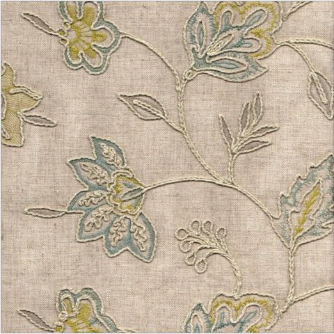 Richloom Clipperton Capri Decorator Fabric, Upholstery, Drapery, Home Accent, TNT,  Savvy Swatch