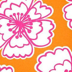 Snappy Poppy Mango Decorator Fabric by P Kaufman, Upholstery, Drapery, Home Accent, P Kaufmann,  Savvy Swatch