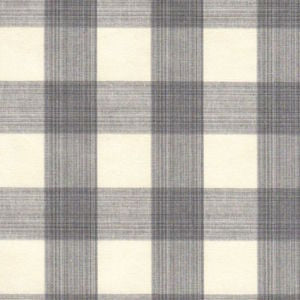 Williamsburg STRATFORD CHECK SMOKE 700437 Buffalo Check Fabric, Upholstery, Drapery, Home Accent, PK Lifestyles,  Savvy Swatch