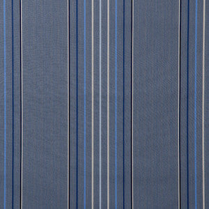 Sunbrella® Awning Stripe 4895‑0000 Motive Denim 46