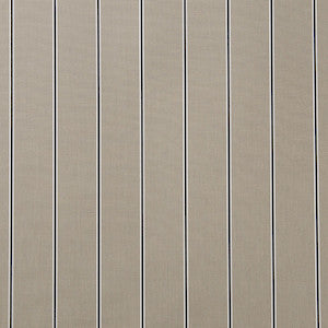Sunbrella® Awning Stripe 4961‑0000 Putty Regimental 46