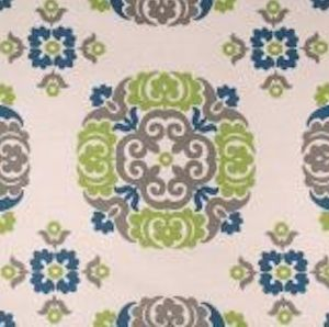 Suzanne Printed in Baltic Decorator Fabric by Golding, Upholstery, Drapery, Home Accent, Golding,  Savvy Swatch