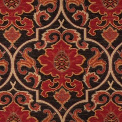 Balley in Ruby Chenille Tapestry Woven Upholstery Fabric, Upholstery, Drapery, Home Accent, Textile Fabric Associates,  Savvy Swatch