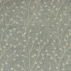Topiary in Mist Decorator Fabric by Richloom, Upholstery, Drapery, Home Accent, TNT,  Savvy Swatch