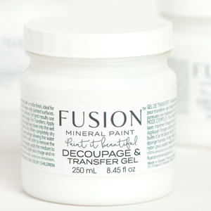 Decoupage & Transfer Gel - Fusion Mineral Paint, Paint, Fusion Mineral Paint,  Savvy Swatch
