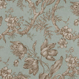 6.1 yards of Fabricut Uttapam Aqua Fabric, Upholstery, Drapery, Home Accent, Savvy Swatch,  Savvy Swatch