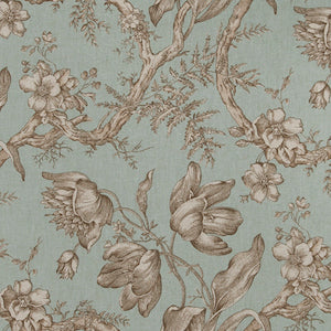 6.1 yards of Fabricut Uttapam Aqua Fabric