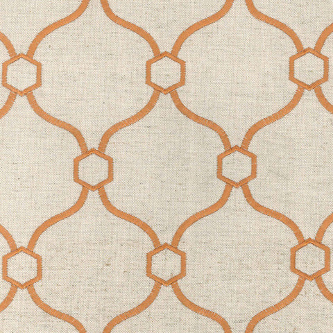 Vera Copper Decorator Fabric by Krelan Regal Fabrics, Upholstery, Drapery, Home Accent, Krelan,  Savvy Swatch