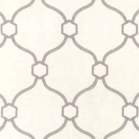 Vera Grey Braxton Decorator Fabric by Krelan Regal Fabrics, Upholstery, Drapery, Home Accent, Krelan,  Savvy Swatch
