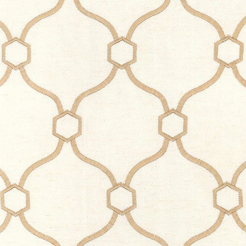 Churchill A6680 Sand Vera Braxton Decorator Fabric by Krelan Regal Fabrics, Upholstery, Drapery, Home Accent, Krelan,  Savvy Swatch