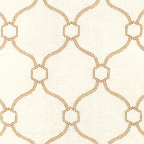Vera Sand Braxton Decorator Fabric by Krelan Regal Fabrics, Upholstery, Drapery, Home Accent, Krelan,  Savvy Swatch