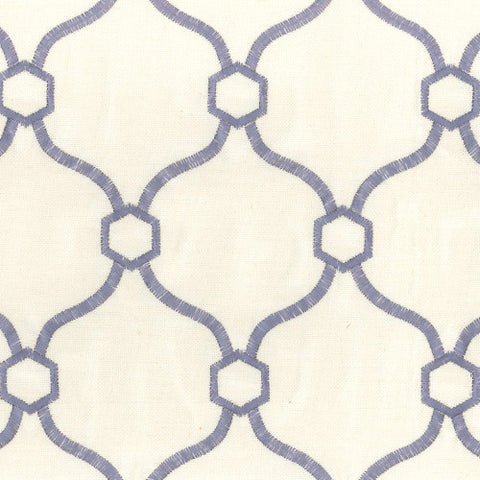 Vera Wedgewood Braxton Decorator Fabric by Krelan Regal Fabrics, Upholstery, Drapery, Home Accent, Krelan,  Savvy Swatch