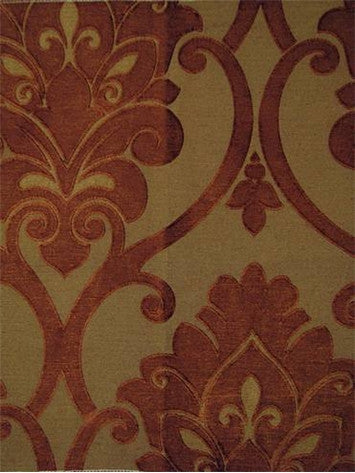 Robert Allen Soft Effects Amber Vichy Russet Decorator Fabric Richloom, Upholstery, Drapery, Home Accent, Richloom,  Savvy Swatch