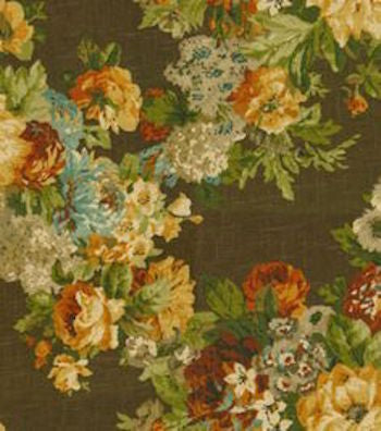 Juliet Espresso Decorator Fabric by Waverly, Upholstery, Drapery, Home Accent, Waverly,  Savvy Swatch