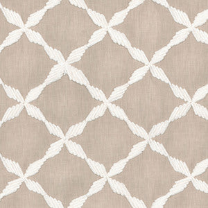 Andalus Emb Flax 654241 by Waverly Fabric, Drapery, Home Accent, Light Upholstery, Waverly,  Savvy Swatch