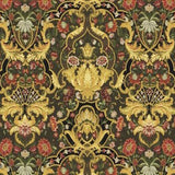 Aubusson Ebony Upholstery Fabric 1.4 yards, Upholstery, Drapery, Home Accent, Regal,  Savvy Swatch