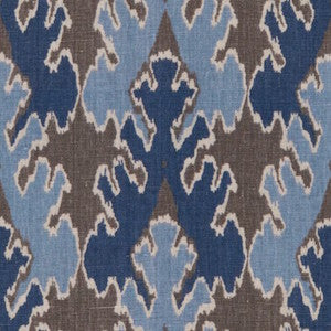 BENGAL BAZAAR GREY/INDIGO Home Decorator Fabric, Upholstery, Drapery, Home Accent, Kravet,  Savvy Swatch