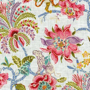 Williamsburg Multi-Purpose Decor Fabric 54''-Jewel Braganza