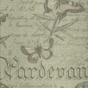 Lacefield Designs Butterfly Botanical Fabric