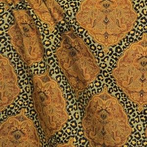 Capetown Gold Jacquard Decorator Fabric, Upholstery, Drapery, Home Accent, Premier Textiles,  Savvy Swatch