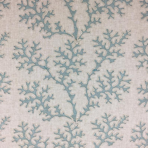 Coral Gardens Teal Decorator Fabric by TFA, Upholstery, Drapery, Home Accent, TFA,  Savvy Swatch