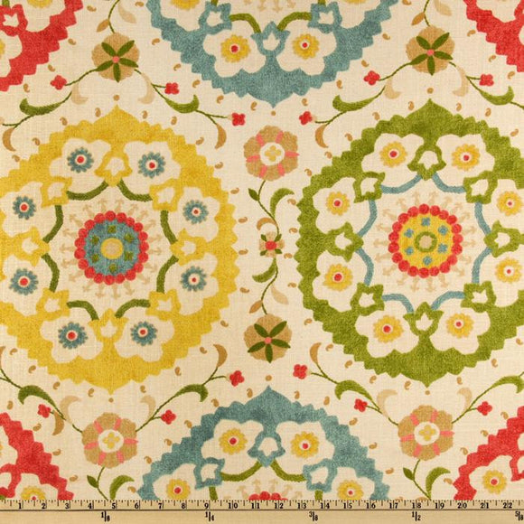 Cornwall Garden Decorator Fabric by Richloom, Upholstery, Drapery, Home Accent, Richloom,  Savvy Swatch