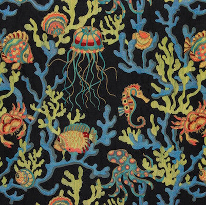 Crab Walk Decorator Fabric by Swavelle Mill Creek, Upholstery, Drapery, Home Accent, Swavelle Millcreek,  Savvy Swatch
