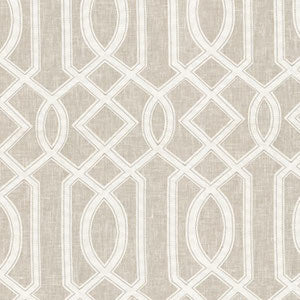 Cutout Emb Linen 654121 by Waverly Fabric