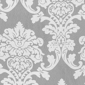 Waverly Damask Burnout Sheer Fabric, Upholstery, Drapery, Home Accent, P/K Lifestyles,  Savvy Swatch