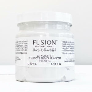 Smooth Embossing Paste - Pearl - Fusion Mineral Paint, Paint, Fusion Mineral Paint,  Savvy Swatch