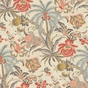 Waverly Exotic Curiousity Reef Fabric, Upholstery, Drapery, Home Accent, P/K Lifestyles,  Savvy Swatch