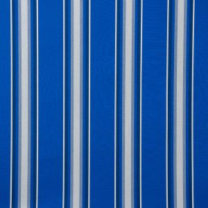Sunbrella® Awning Stripe 4755‑0000 Pacific Blue Fancy 46