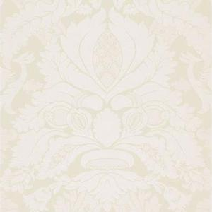 3 yards of Schumacher Fitzroy Linen Damask in Vellum, Upholstery, Drapery, Home Accent, Savvy Swatch,  Savvy Swatch