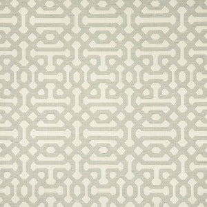 Sunbrella 45991-0002 Fretwork Pewter Indoor/Outdoor Fabric, Upholstery, Drapery, Home Accent, Sunbrella,  Savvy Swatch