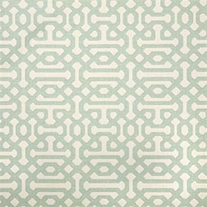 Sunbrella 45991-0000 Fretwork Mist Indoor/Outdoor Fabric, Upholstery, Drapery, Home Accent, Sunbrella,  Savvy Swatch