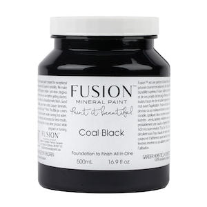 Coal Black - Fusion Mineral Paint