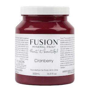 Cranberry - Fusion Mineral Paint, Paint, Fusion Mineral Paint,  Savvy Swatch