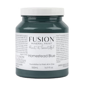 Homestead Blue - Fusion Mineral Paint, Paint, Fusion Mineral Paint,  Savvy Swatch