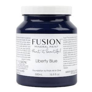 Liberty Blue - Fusion Mineral Paint, Paint, Fusion Mineral Paint,  Savvy Swatch