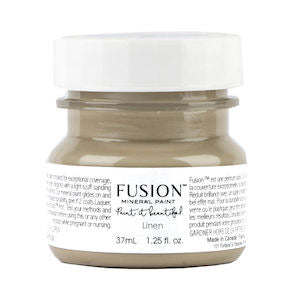 Linen - Fusion Mineral Paint 4 TESTER 37 ml SIZE BOTTLES