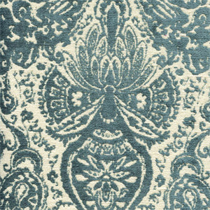 Gilsey Turquoise Fabric by Textile Fabric Associates, Upholstery, Drapery, Home Accent, TFA,  Savvy Swatch