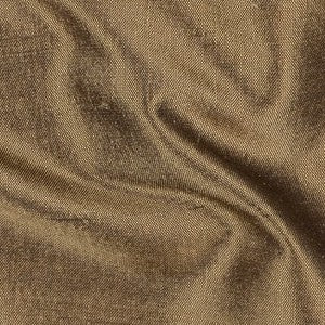 Golden Bronze Silk Shantung Fabric, Upholstery, Drapery, Home Accent, Savvy Swatch,  Savvy Swatch