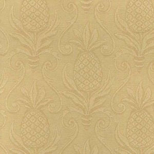 Greetings Cornsilk Pineapple Matelasse Decorator Fabric by Regal