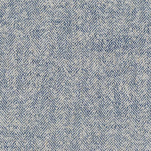 Covington Guilford Weathered Denim Herringbone Fabric, Upholstery, Drapery, Home Accent, Covington,  Savvy Swatch
