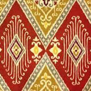 Ikat Diamond Spice 110163 Decorator Fabric by IMAN Home Fabric P K Lifestyles, Upholstery, Drapery, Home Accent, P/K Lifestyles,  Savvy Swatch