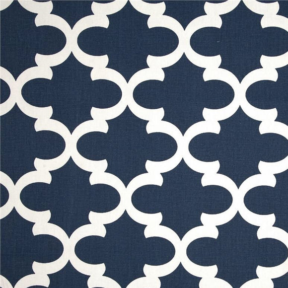 Premier Prints Fynn Navy Blue Decorator Fabric, Upholstery, Drapery, Home Accent, Premier Prints,  Savvy Swatch