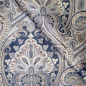 1.4 Yards Equestrian Delft Paisley Decorator Fabric by Richloom, Upholstery, Drapery, Home Accent, Richloom,  Savvy Swatch