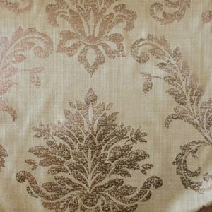 Golding Churchill Damask Bronze Decorator Fabric, Upholstery, Drapery, Home Accent, Golding,  Savvy Swatch