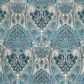 B3702 Indigo -  Decorator Fabric by Greenhouse, Upholstery, Drapery, Home Accent, Greenhouse,  Savvy Swatch