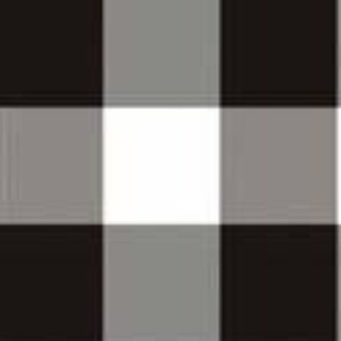 Covington Sandwell Ebony Black and White Check Decorative Fabric, Drapery, Home Accent, Light Upholstery, Covington,  Savvy Swatch